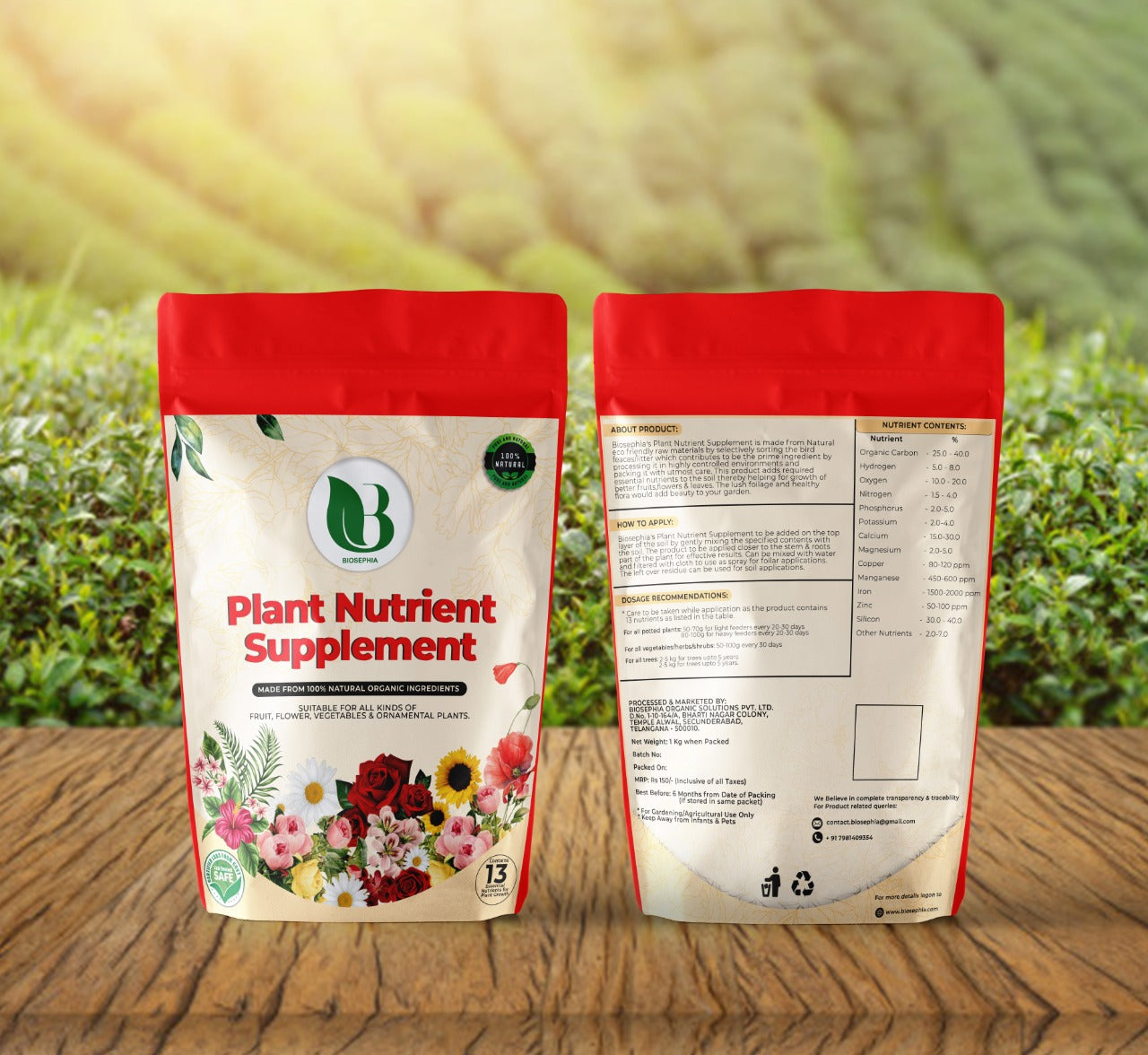 Biosephia Plant Nutrient Supplement (PNS)
