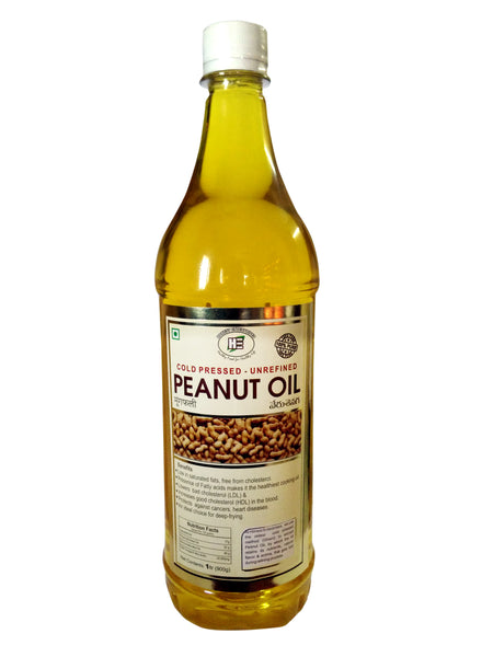 Honest - Organic Peanut Oil 1Ltr