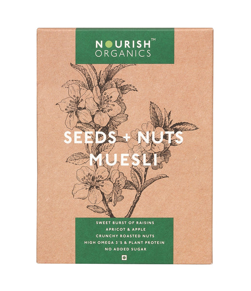 Nourish Organics - Seeds and Nuts Muesli 300g
