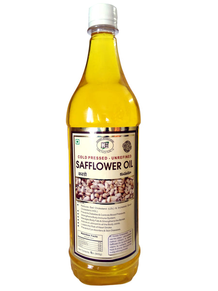 Honest - Organic Safflower Oil 1Ltr