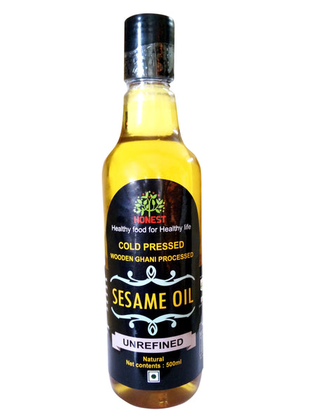 Honest - Organic Sesame Oil 500ml
