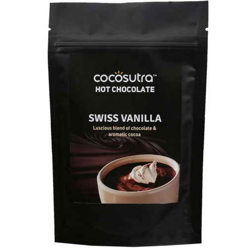 COCOSUTRA  Hot Chocolate Blend - Swiss Vanilla, 100g