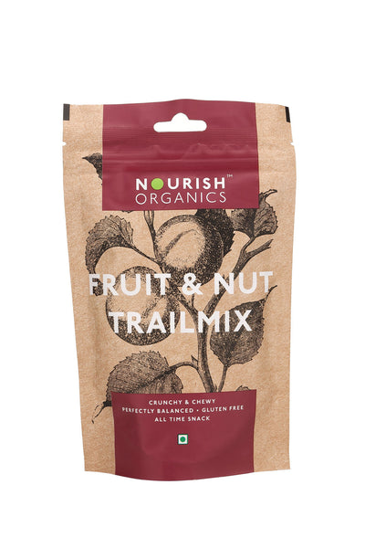Nourish Organics - Fruit and Nut Trail Mix 120g