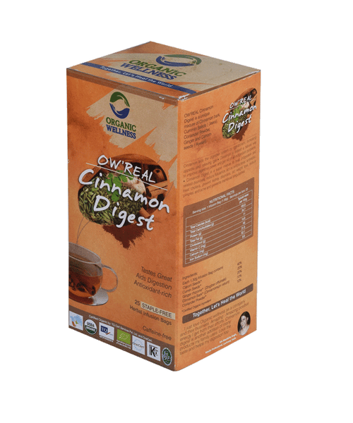 Organic Wellness - Real Cinnamon Digest Tea Bags