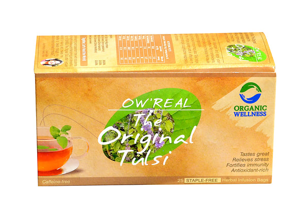 Organic Wellness - Real The Original Tulsi Tea Bags