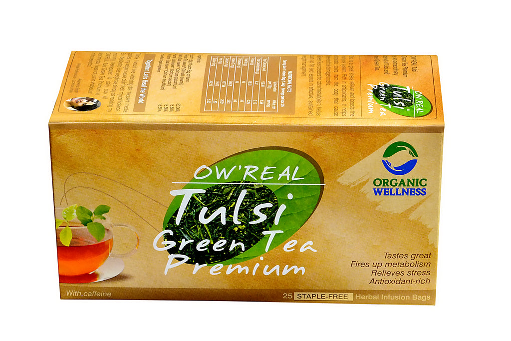 Organic Wellness - Real Tulsi Green Premium Tea Bags