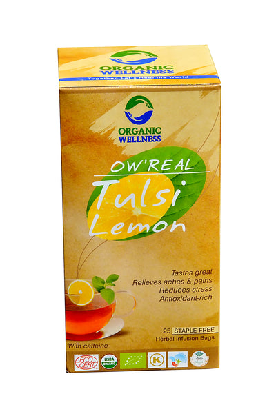 Organic Wellness - Real Tulsi Lemon Tea Bags