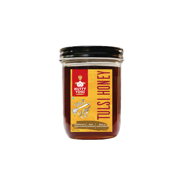 Nutty Yogi Tulsi Honey 400 Gm