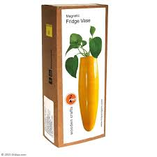 Maya Organic's Fridge Vase Yellow