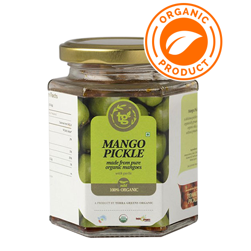 Terra Greens Organic - Mango Pickle 250g