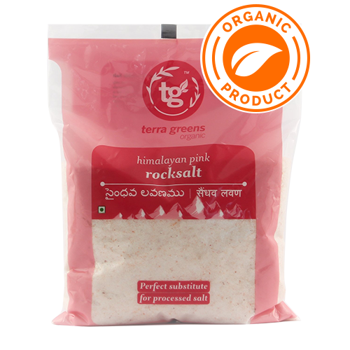 Terra Greens Organic - Rock Salt Natural 1Kg