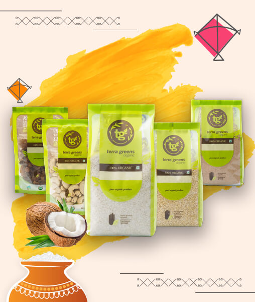 Green Station - Organic Sweet Pongal - Combo Pack 588/-