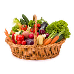Organic Vegetable Basket Subscription - 6 baskets