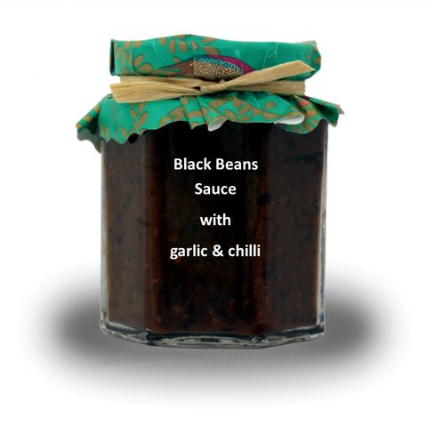 Black Beans Sauce with garlic & chilli