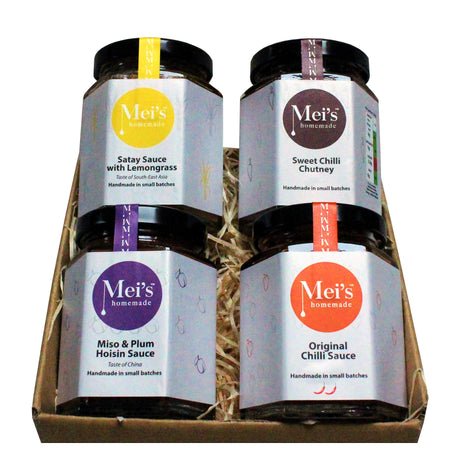Make your own Box - Asian Cooking & Dipping Sauces Gift Box Free Delivery!