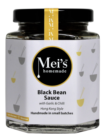 Black Beans Sauce with garlic & chilli - Gluten Free  LIMITED stock!