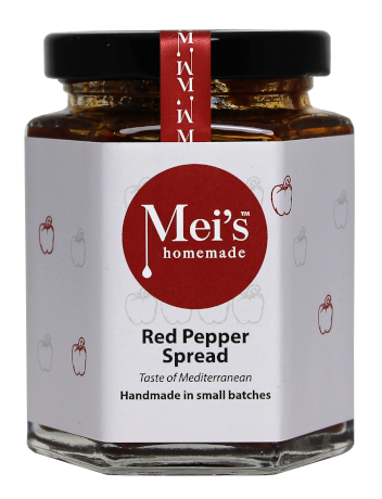 Red Pepper Spread   Gluten Free