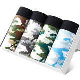 Printed boxer shorts set of 4 pcs