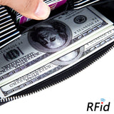 RFID-blocking wallet
