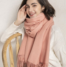 100% pure wool scarf for women
