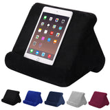 Multi-angle soft pillow stand for iPad & smartphones