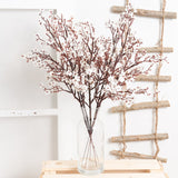 Artificial Gypsophila flowers set of 2 pcs