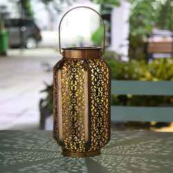 4 styles solar powered lantern lamp