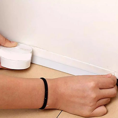 Door sealing silicone strip