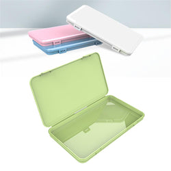 Portable face masks storage box