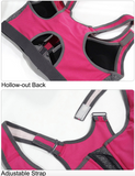 Front zipper double layer cup sports bra