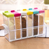 6 herbs & spices container boxes