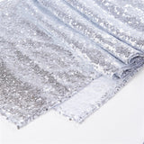 Sparkly sequin table runner