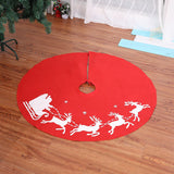 Christmas tree skirt base cover