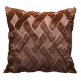 Soft plush pillow cover