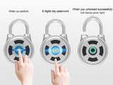 Bluetooth electronic wireless padlock