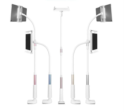 Lazy holder stand for mobile phone & tablet