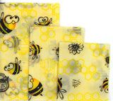 Reusable beeswax wrap set