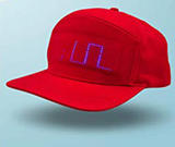 Luminous LED display hat