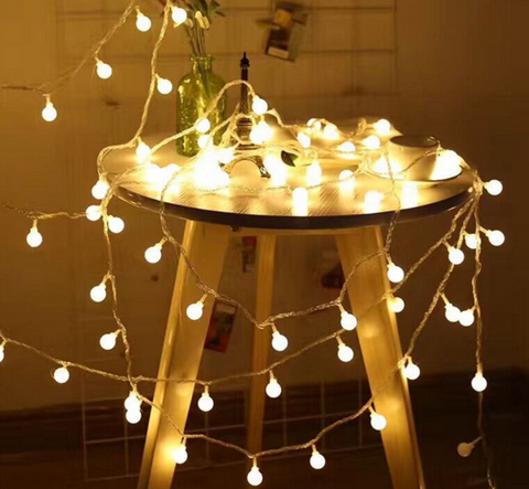 LED bulb string lights