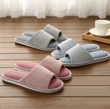 Open toe home slippers