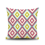 Nordic style striped cushion cover