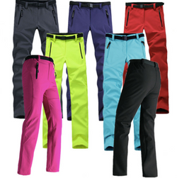 Thick windproof ski & hiking pants