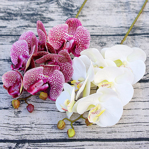 Artificial butterfly orchid