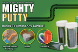 Clay glue mighty putty tool