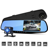Rear view mirror dash camera