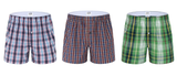 Pyjama boxer shorts for men