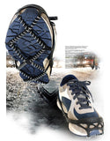 Anti-slip shoe cleats ice crampons