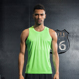 Running & fitness sleeveless tank top vest T-shirt for men