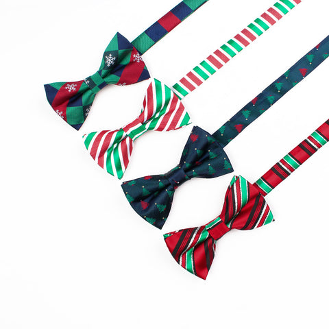 Christmas bowtie for men 2pack