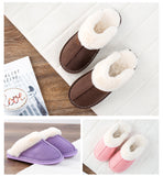Warm and soft winter slippers